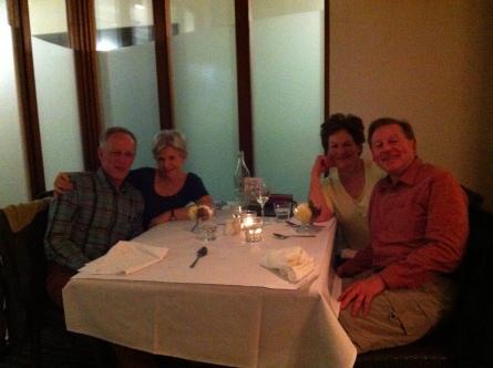 Dinner with Rod and Sue Davison 004