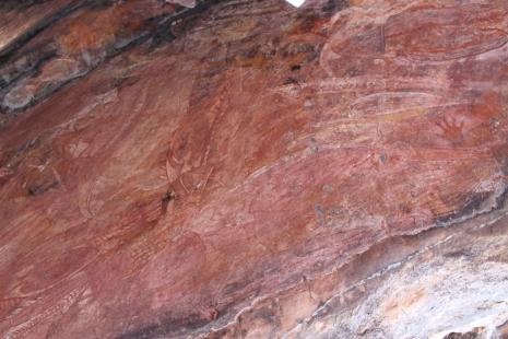 Ubirr rock art and sunset 014