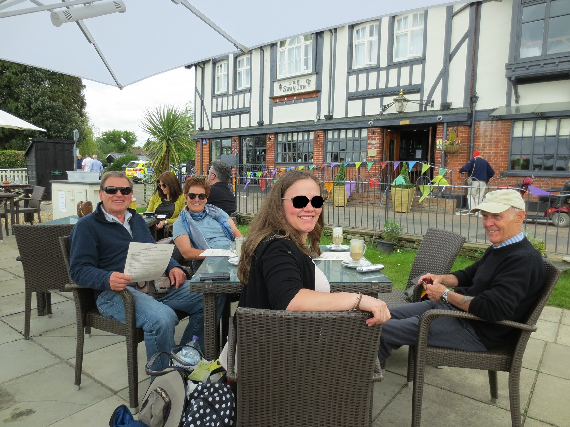 Norfolk broads, the Swan_LI