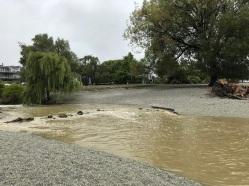 Bullock creek flowing into lake5
